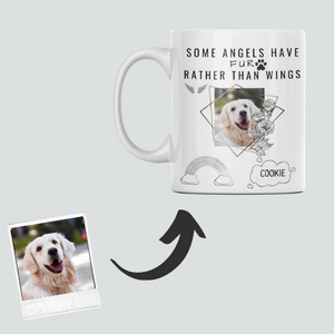 Dog Memorial Custom Mug #3-iconzart