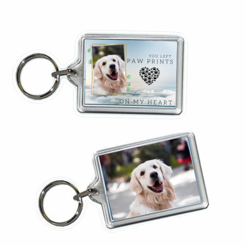 Dog Memorial Keyring-iconzart