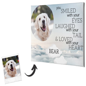 Dog Memorial Canvas #2