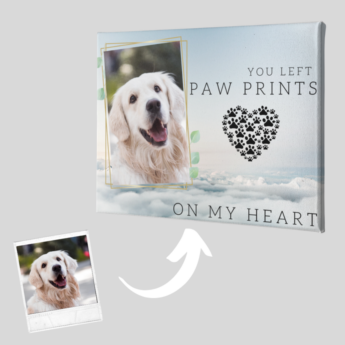 Dog Memorial Canvas