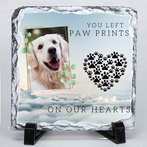 Personalised Dog Memorial Photo Slate # 1