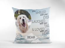 Load image into Gallery viewer, Dog Memorial Cushion # 2