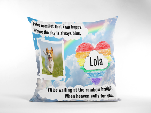 Personalized Dog Cushion Cover