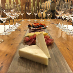 Winery Tour & Barrel Cellar Tasting with Artisanal Cheese