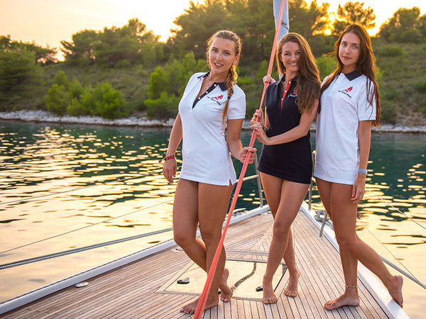 Womens Pique Polo 2014 White