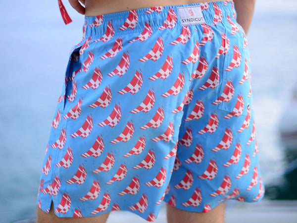 Mens TYW Swimming Trunks 2014 by Syndicut