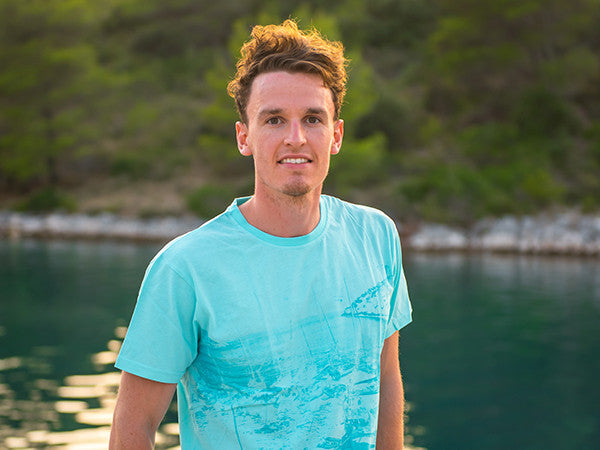 Mens T-Shirt 2014 Turquoise