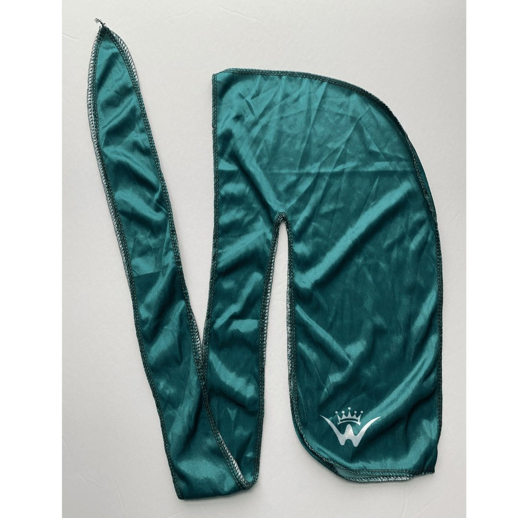 Green- Plain Silk Durags - 26 King Wavy Merch, LLC