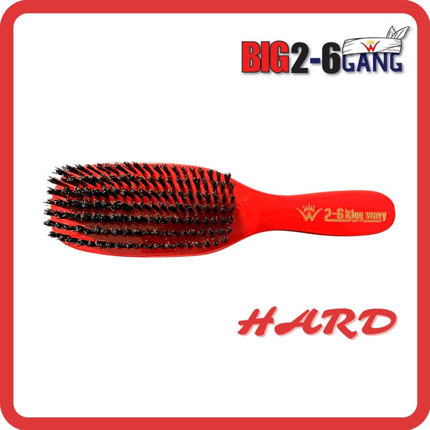 HARD 7 Row Flat Brush (FORK BREAKER) - 26 King Wavy Merch, LLC