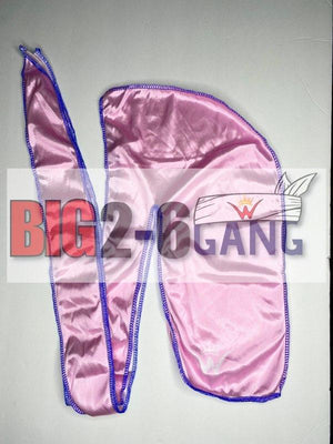 Pink - Plain Silk Durags - 26 King Wavy Merch, LLC