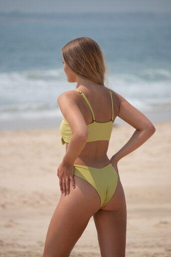 MALDIVES BIKINI BOTTOMS IN AVOCADO GREEN