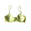TROPEZ BIKINI TOP IN AVOCADO GREEN - PINKCOLADA