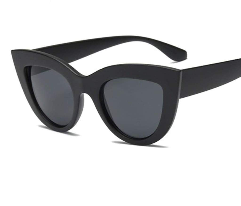 LASH SUNGLASSES IN BLACK - PINKCOLADA
