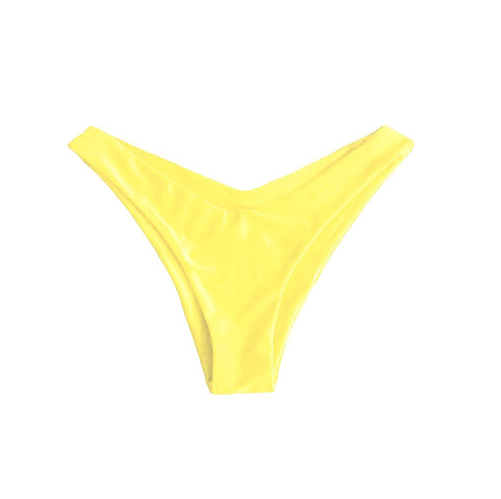 MALDIVES BIKINI BOTTOMS IN MANGO YELLOW