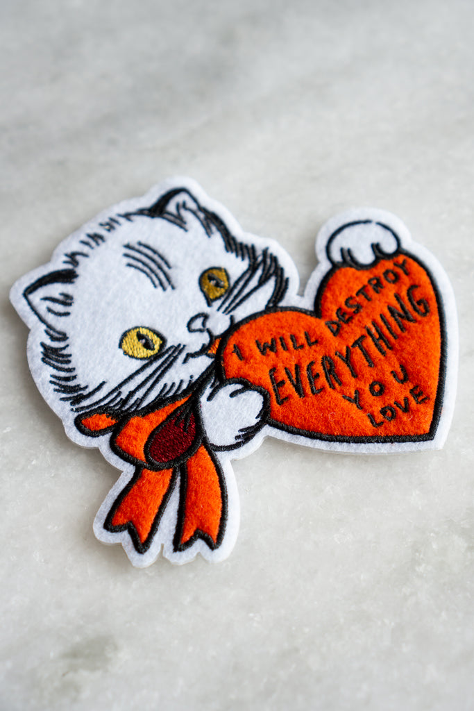 Destroy (Cat) Patch