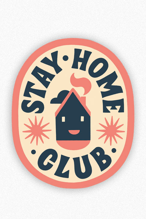 Club House Vinyl Sticker
