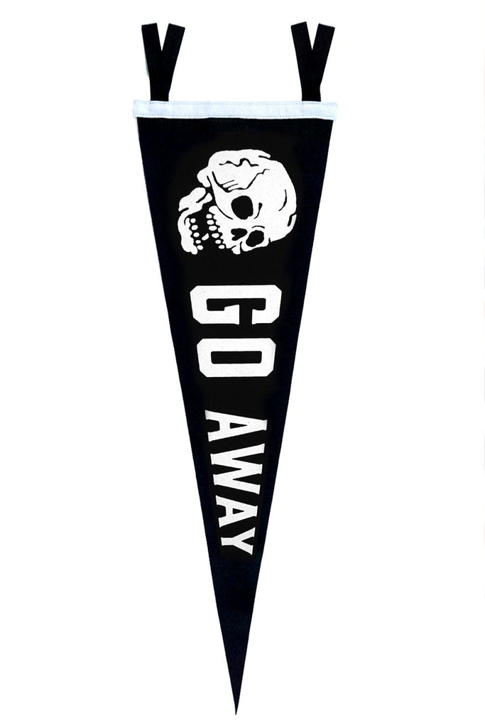 Go Away Large Pennant