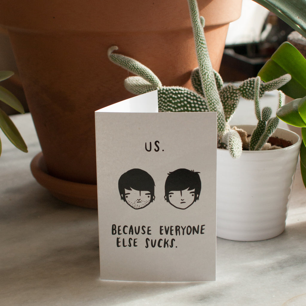 Us (boys) card