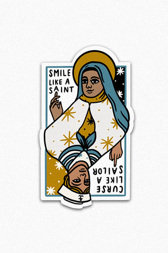 Saints and Sailors Vinyl Sticker