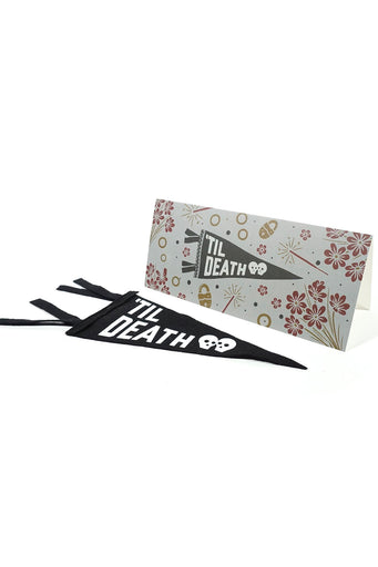 Til Death Card & Pennant Set