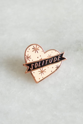 Pink Solitude Pin