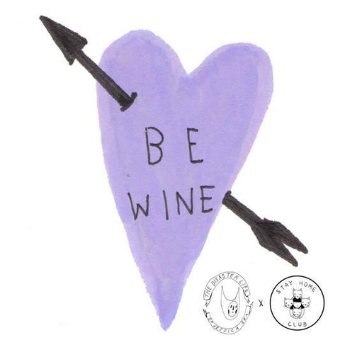 Be Wine card