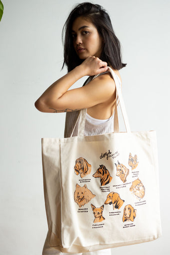 Dogs Feeling Things XL Tote
