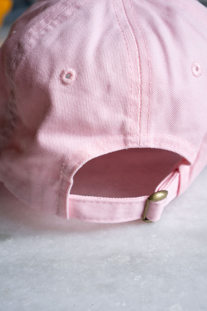 Lazy Wives Club Dad Hat (Pink)