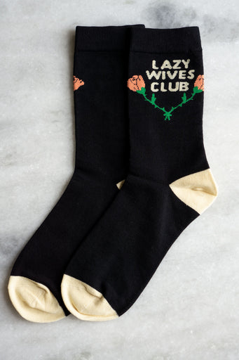 Lazy Wives Club Socks
