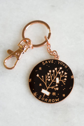 Save Your Sorrow Keychain