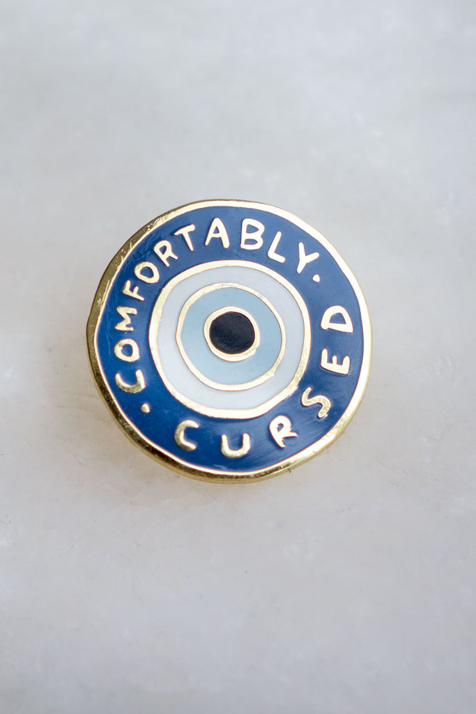 Comfortably Cursed Pin