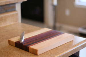 exotic wood cutting board - Slick Willy Woodworking