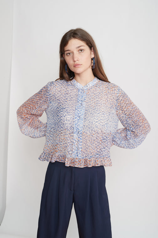 The Library blouse