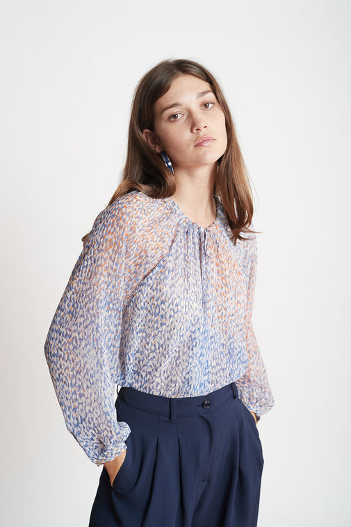 The Bookstore blouse