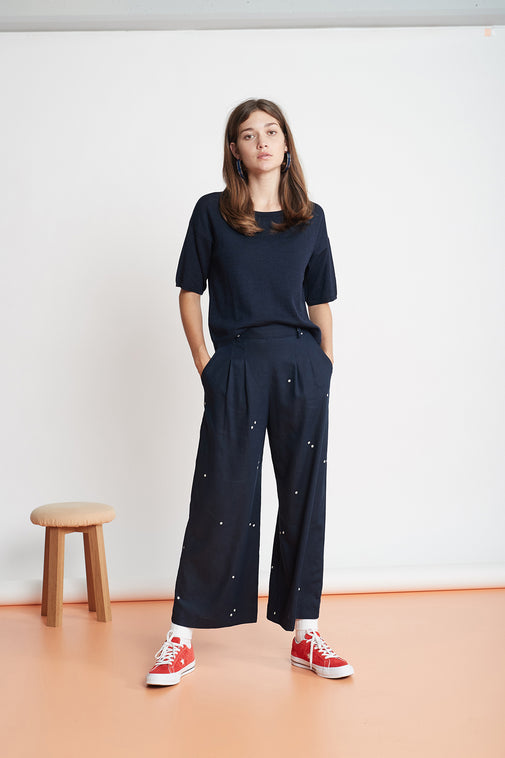 The Serenity Now culottes