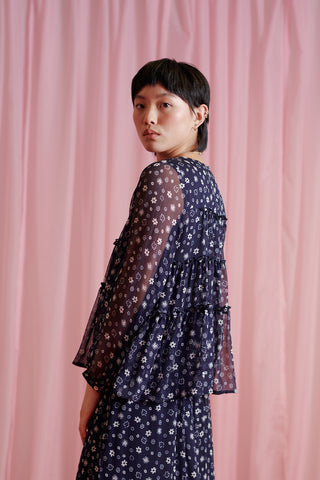 Outer space blouse