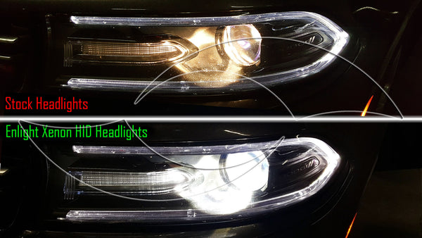 2015 Dodge Charger - Enlight Xenon HID Headlight Kit