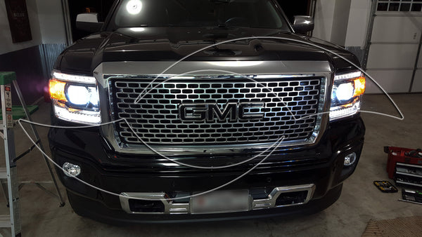 2014+ GMC Sierra - Alpha Series Xenon HID Headlight Kit