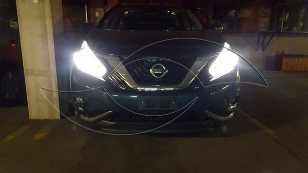 2013+ Nissan Rouge - Alpha Series Xenon HID Headlight Kit (low beam)