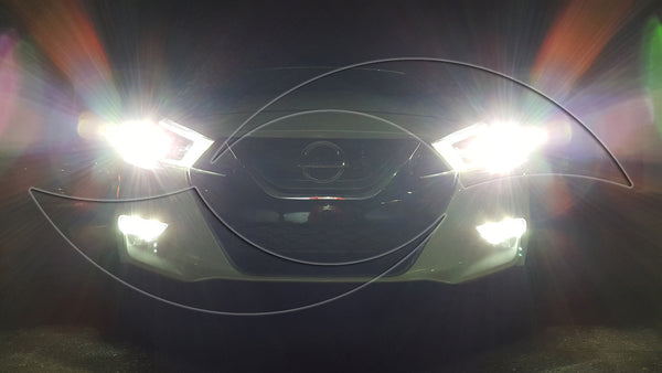 Nissan Maxima HID Kit LED Fog lights