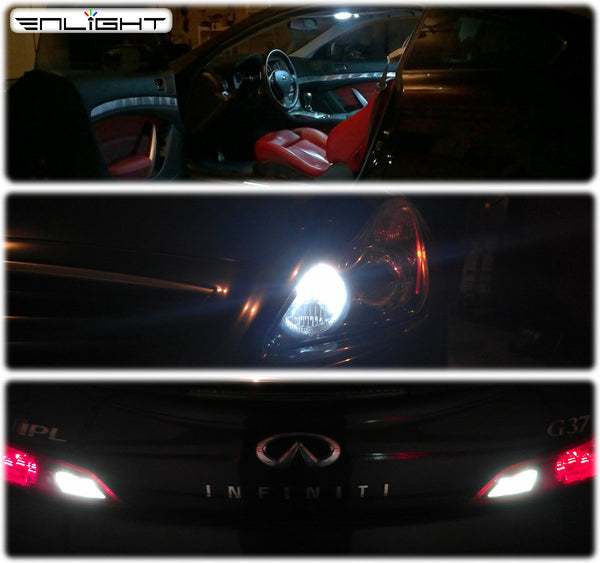 Infiniti G37 Coupe COMPLETE LED Interior and Exterior Conversion Kit