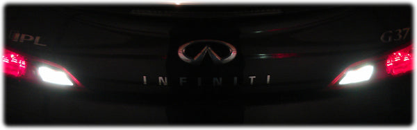 Infiniti G37 LED L220 Reverse Light / Backup Bulbs