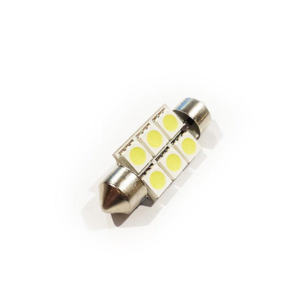 36mm Double Ended (DE) 6-LED Festoon Bulb