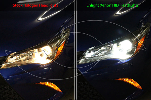 2007-2014 Toyota Camry - Alpha Series Xenon HID Headlight System