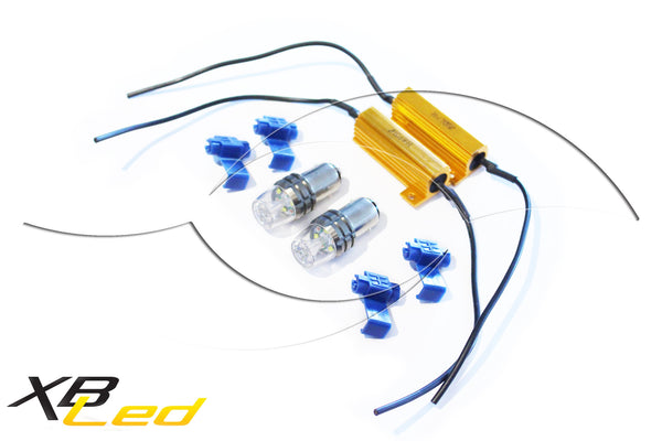 2013+ Honda Accord Coupe Front LED Turn Signal Bulb Kit