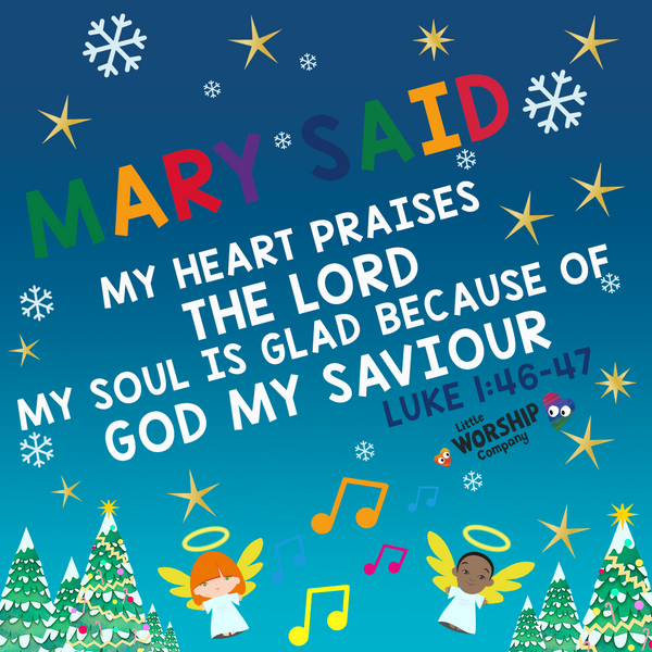 Christmas Little Worship Time Devotional - Mary's Story