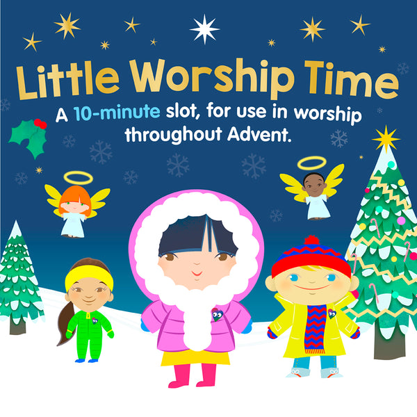 Christmas Little Worship Time Devotional - The Baby In The Blanket