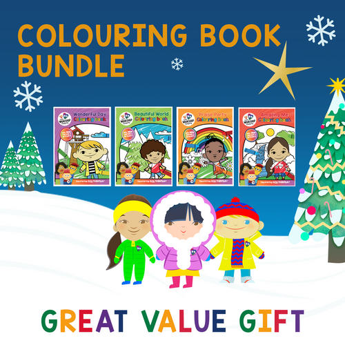 Colouring Book gift bundle