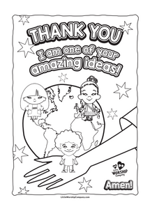 Amazing Me Colouring Book
