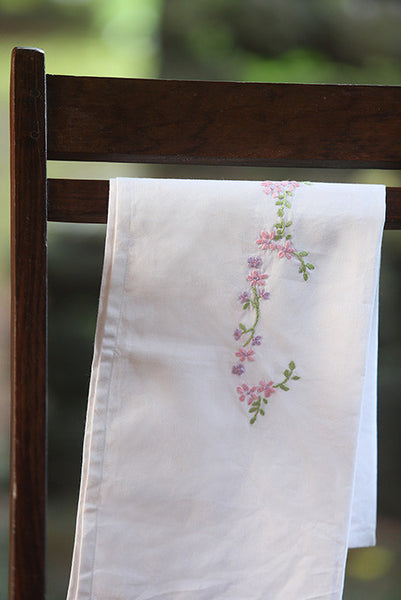 Light Pink Bud Baby Sheet